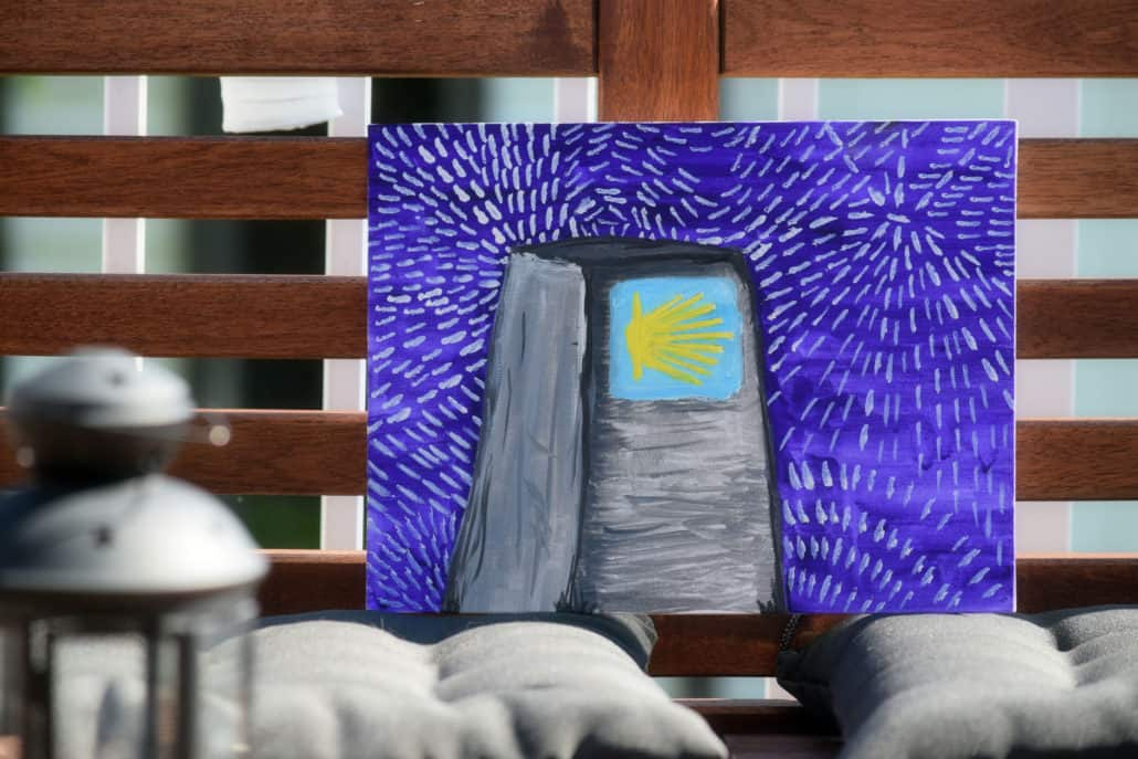 The Camino Painting